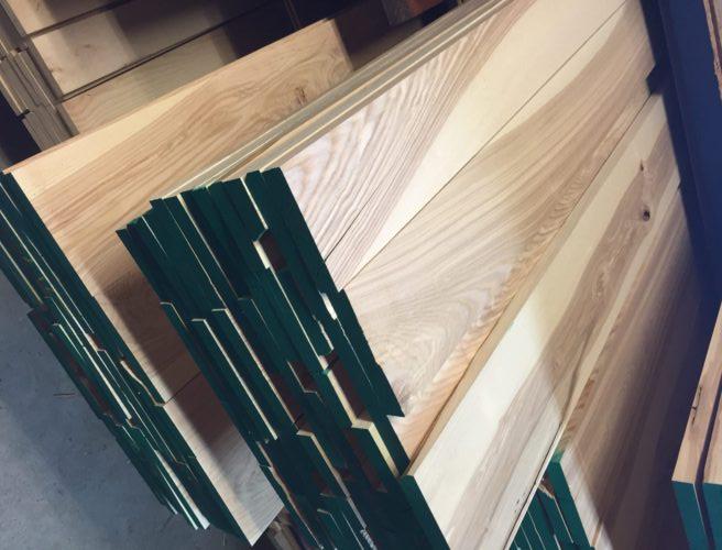 Olijfessen hout