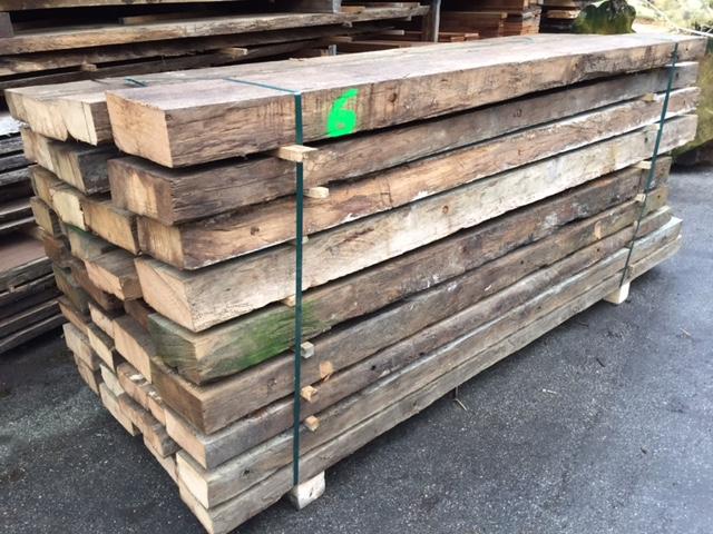 Oud en verweerd eikenhout te koop